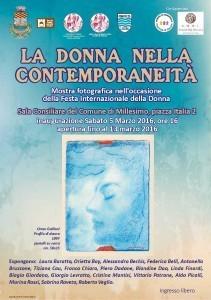 """Mostra fotografica nel Comune di Millesimo: """"La donna nella contemporaneità"""", 5-13 marzo 2016"""