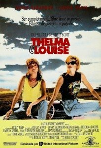 THELMA Y LOUISE - Spanish Poster