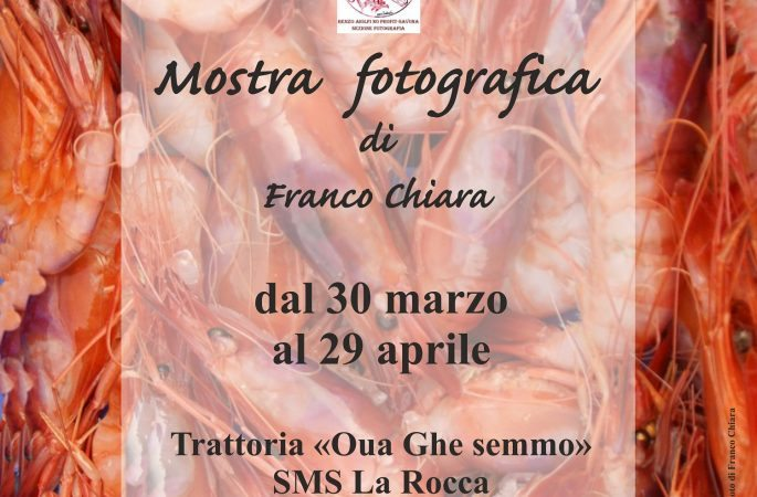 Mostre fotografiche a Savona. Personale di Franco Chiara