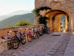 BiagioGiordano_Biciclette a Borgio Verezzi
