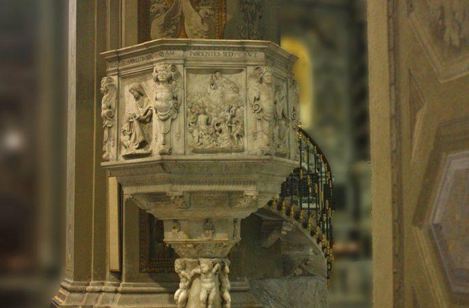 Le foto di Biagio Giordano, Antica Cattedrale sul Priamar a Savona Duomo di Savona Pulpito