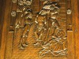 Chiesa del Cristo risorto, coro ligneo del xv secolo foto n° 2